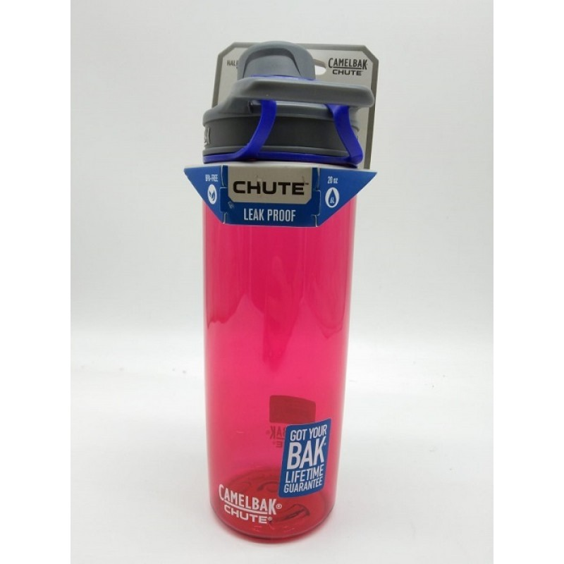 CAMELBAK CHUTE 0.6L POW PINK WATER BOTTLE H17044